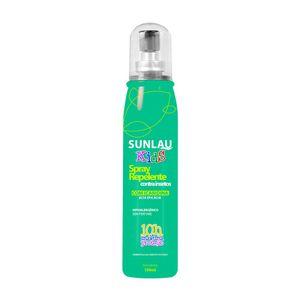 Repelente infantil Sunlau de alta eficácia e até 10 horas de proteção contra insetos de 100 ml Kids